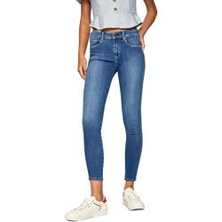 Textil Ženy Rifle skinny Pepe jeans PL203616HB58 Modrý