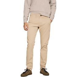 Textil Muži Mrkváče Pepe jeans PM210992C342 Béžový