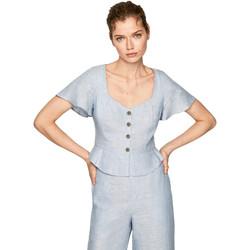 Textil Ženy Halenky / Blůzy Pepe jeans PL303675 Modrý