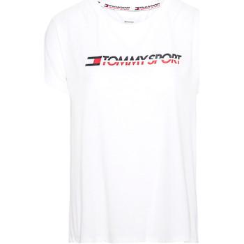 Textil Ženy Trička s krátkým rukávem Tommy Hilfiger S10S100061 Bílý