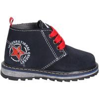 Boty Děti Kotníkové boty Melania ME1043B7I.A Modrý