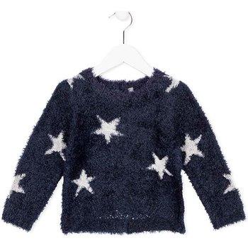 Textil Děti Trička s dlouhými rukávy Losan 726 5000AD Modrý