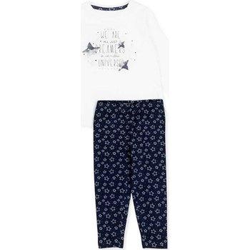 Textil Dívčí Set Losan 726 8003AD Bílý