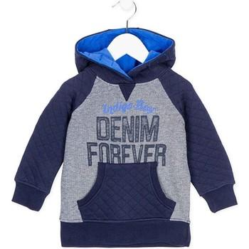 Textil Děti Mikiny Losan 725 6003AC Modrý
