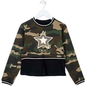 Textil Děti Mikiny Losan 724 6023AB Zelený