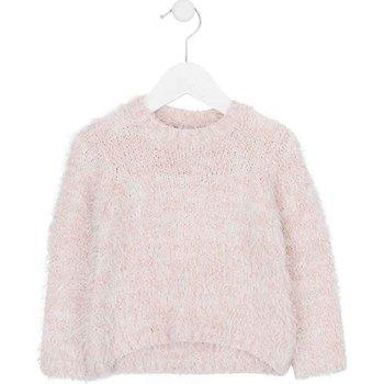 Textil Děti Svetry Losan 726 5002AD Růžový