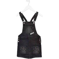 Textil Děti Overaly / Kalhoty s laclem Losan 724 7023AB Černá