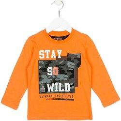 Textil Děti Mikiny Losan 725 1013AC Oranžový