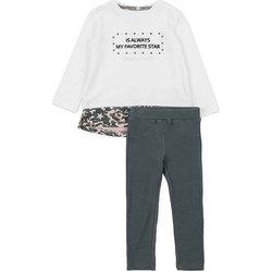 Textil Dívčí Set Losan 726 8036AD Bílý
