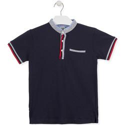 Textil Děti Polo s krátkými rukávy Losan 015-1791AL Modrý