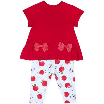 Textil Dívčí Set Chicco 09076397000000 Červené