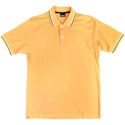 Textil Muži Polo s krátkými rukávy Key Up 2Q70G 0001 Žlutá