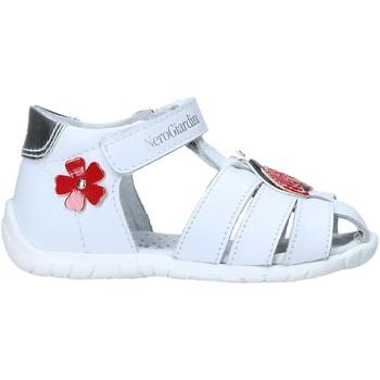 Boty Děti Sandály Nero Giardini E018090F Bílý