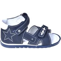 Boty Děti Sandály Melania ME0821A9E.B Modrý