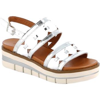 Boty Ženy Sandály Grunland SA2541 Bílý