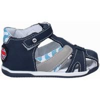 Boty Děti Sandály Melania ME0809A8E.A Modrý