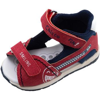 Boty Děti Sandály Chicco 01063480000000 Červené