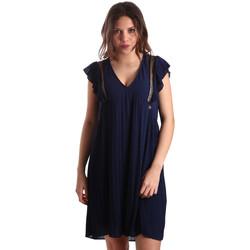 Textil Ženy Krátké šaty Gaudi 911BD15020 Modrý