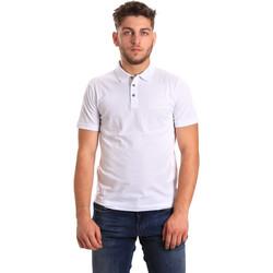 Textil Muži Polo s krátkými rukávy Ea7 Emporio Armani 8NPF21 PJ48Z Bílý