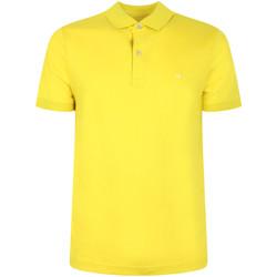 Textil Muži Polo s krátkými rukávy Calvin Klein Jeans K10K105182 Žlutá