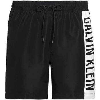 Textil Muži Plavky / Kraťasy Calvin Klein Jeans KM0KM00437 Černá
