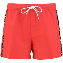 Textil Muži Plavky / Kraťasy Calvin Klein Jeans KM0KM00457 Červené