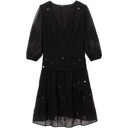 Textil Ženy Krátké šaty Desigual 19WWVW32 Černá