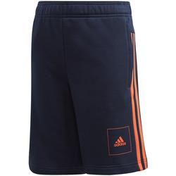 Textil Děti Kraťasy / Bermudy adidas Originals FL2815 Modrý