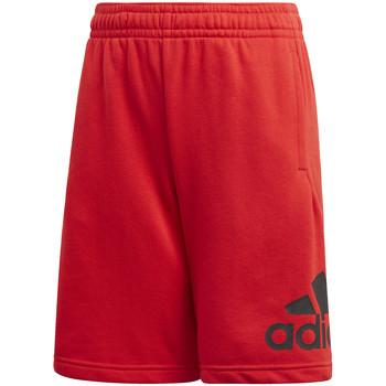 Textil Děti Kraťasy / Bermudy adidas Originals FM6457 Červené