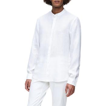Textil Muži Košile s dlouhymi rukávy Calvin Klein Jeans K10K105389 Bílý