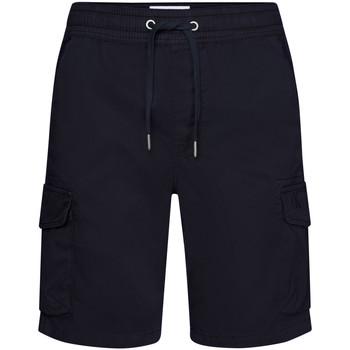 Textil Muži Kraťasy / Bermudy Calvin Klein Jeans J30J314975 Modrý