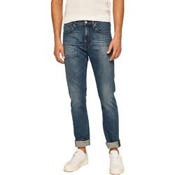 Textil Muži Rifle rovné Calvin Klein Jeans K10K105468 Modrý