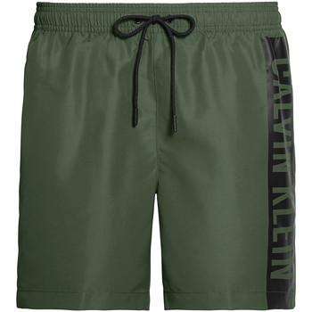 Textil Muži Plavky / Kraťasy Calvin Klein Jeans KM0KM00437 Zelený
