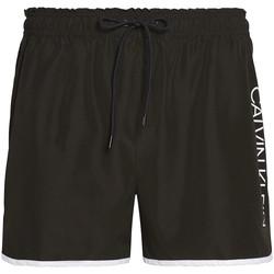 Textil Muži Plavky / Kraťasy Calvin Klein Jeans KM0KM00439 Černá