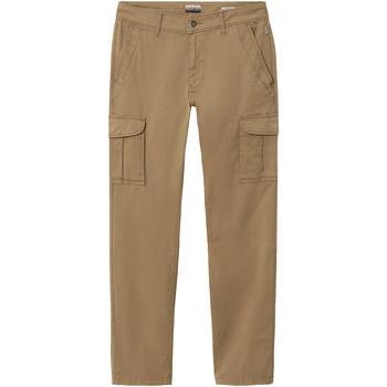 Textil Muži Cargo trousers  Napapijri NP0A4E31 Hnědý