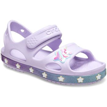 Boty Děti Sandály Crocs 206366 Růžový