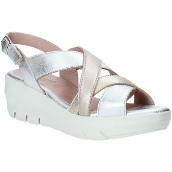Boty Ženy Sandály Grunland SA1876 Stříbrný