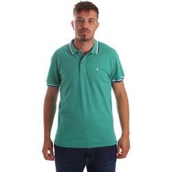Textil Muži Polo s krátkými rukávy Navigare NV82077 Zelený
