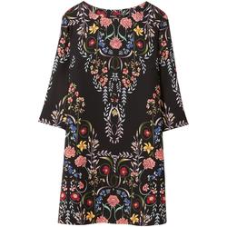 Textil Ženy Krátké šaty Desigual 18WWVW17 Černá