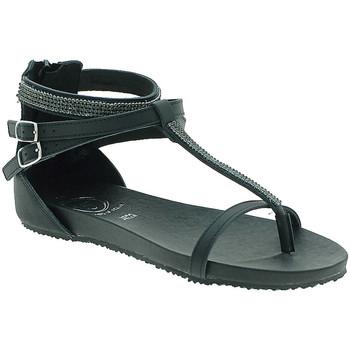 Boty Ženy Sandály 18+ 6110 Černá
