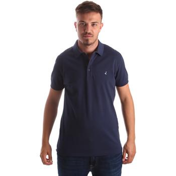 Textil Muži Polo s krátkými rukávy Navigare NV82097 Modrý