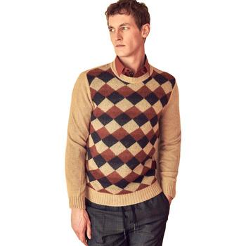 Textil Muži Svetry Antony Morato MMSW00855 YA400113 Béžový