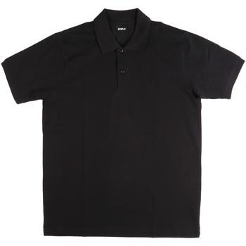 Textil Muži Polo s krátkými rukávy Key Up 2800Q 0001 Černá