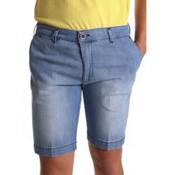 Textil Muži Kraťasy / Bermudy Sei3sei PZV132 7118 Modrý