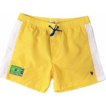 Textil Muži Plavky / Kraťasy U.S Polo Assn. 45282 41393 Žlutá