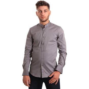 Textil Muži Košile s dlouhymi rukávy Antony Morato MMSL00376 FA450001 Šedá