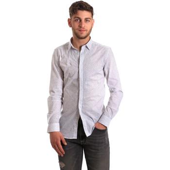 Textil Muži Košile s dlouhymi rukávy Antony Morato MMSL00428 FA430302 Bílý