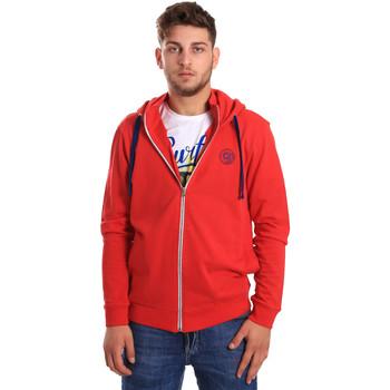 Textil Muži Mikiny Gaudi 811BU64067 Červené