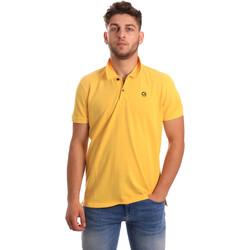 Textil Muži Polo s krátkými rukávy Gaudi 811BU64074 Žlutá