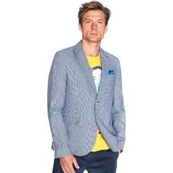Textil Muži Saka / Blejzry Gaudi 811FU35035 Modrý